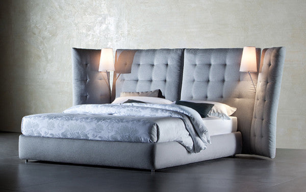 Angle Bed by Flou for sale at Home Resource Modern Furniture Store Sarasota Florida