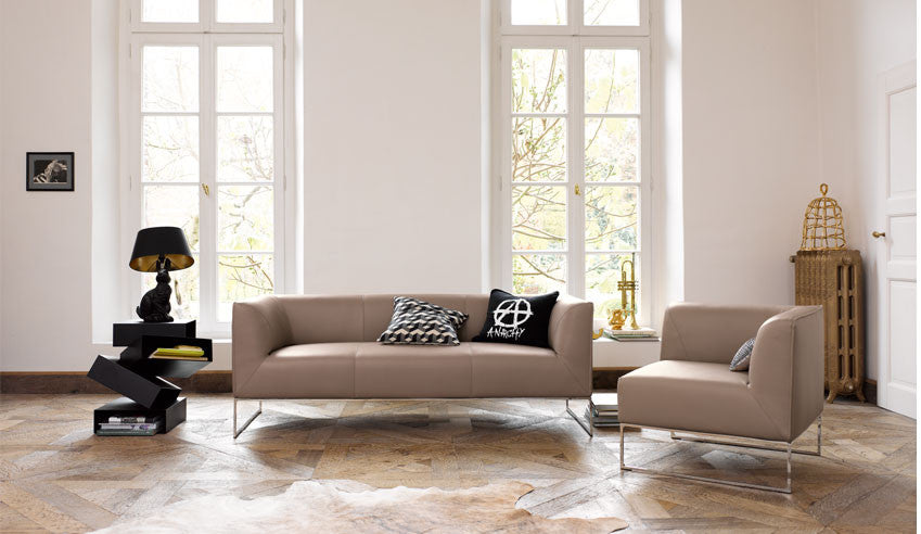 Mell Sofa  by COR, available at the Home Resource furniture store Sarasota Florida