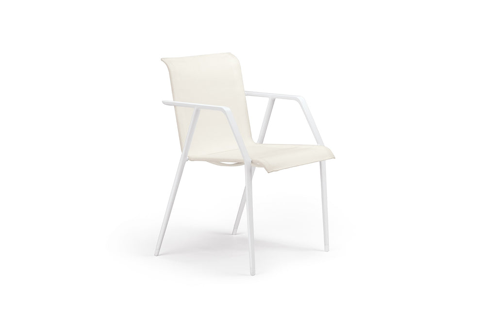 WA ARMCHAIR IN TEXTILE  by Dedon, available at the Home Resource furniture store Sarasota Florida