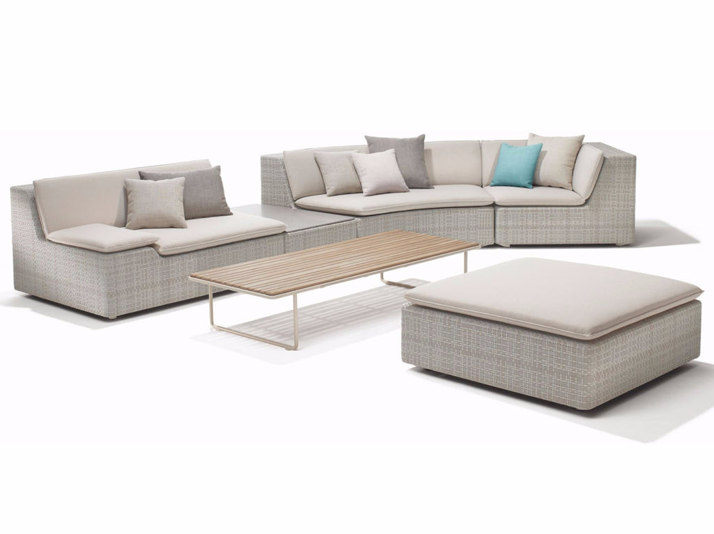 LOU SECTIONAL PIECES  by Dedon, available at the Home Resource furniture store Sarasota Florida