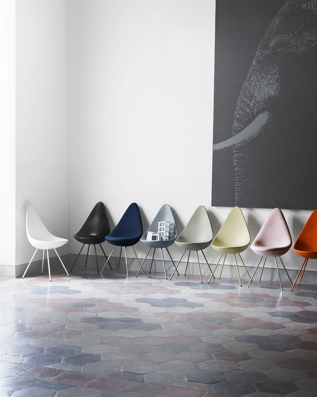 Drop Chair  by Fritz Hansen, available at the Home Resource furniture store Sarasota Florida