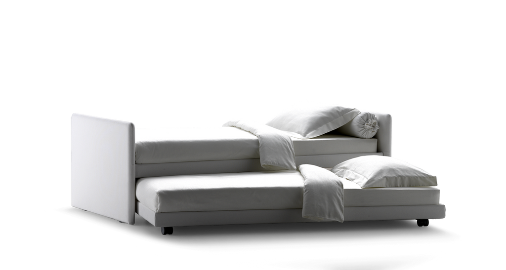 Duetto Bed  by Flou, available at the Home Resource furniture store Sarasota Florida