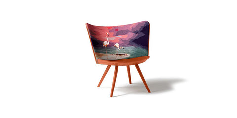 EMBROIDERY CHAIR by Cappellini