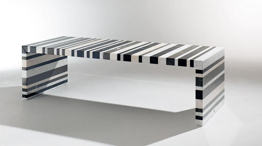BARCODE DINING TABLE by DRAENERT for sale at Home Resource Modern Furniture Store Sarasota Florida
