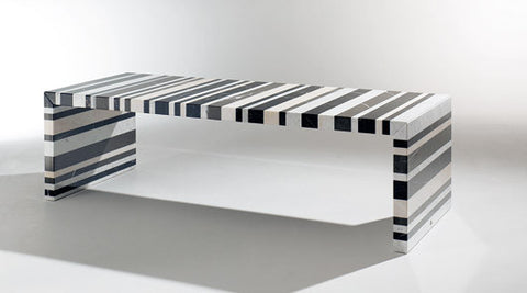 BARCODE DINING TABLE by DRAENERT