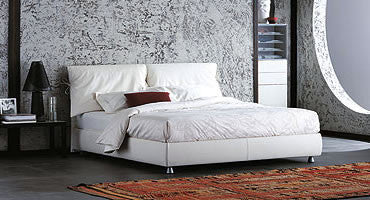 Nathalie Bed  by Flou, available at the Home Resource furniture store Sarasota Florida