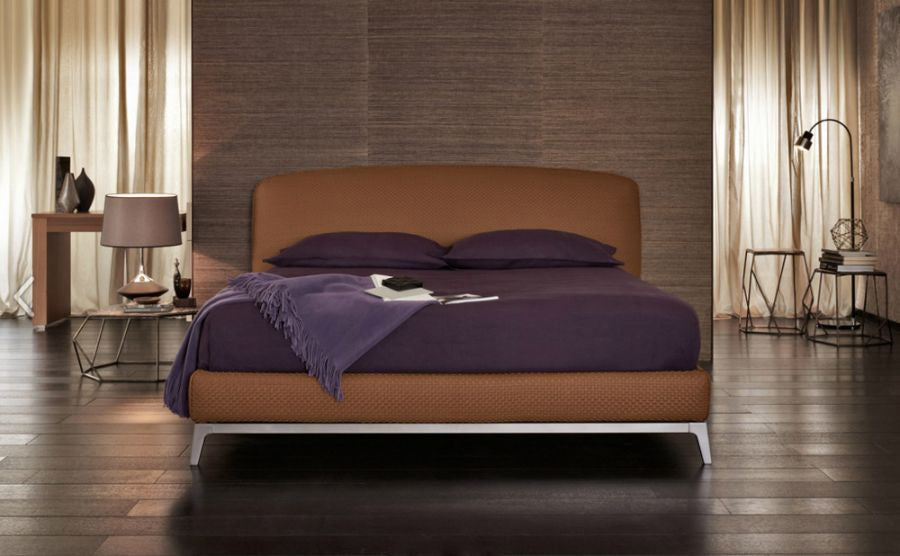 Oliver Bed by Flou for sale at Home Resource Modern Furniture Store Sarasota Florida