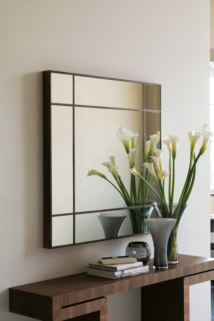 Four Seasons Quadrato Mirror  by Porada, available at the Home Resource furniture store Sarasota Florida