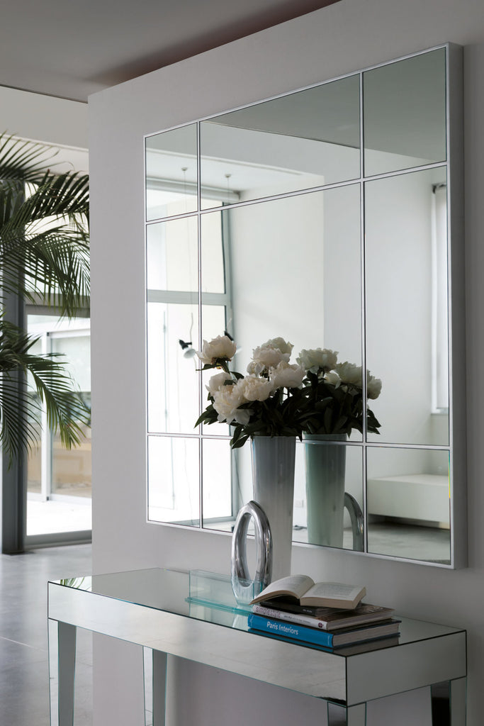 Four Seasons Quadrato Mirror by Porada for sale at Home Resource Modern Furniture Store Sarasota Florida