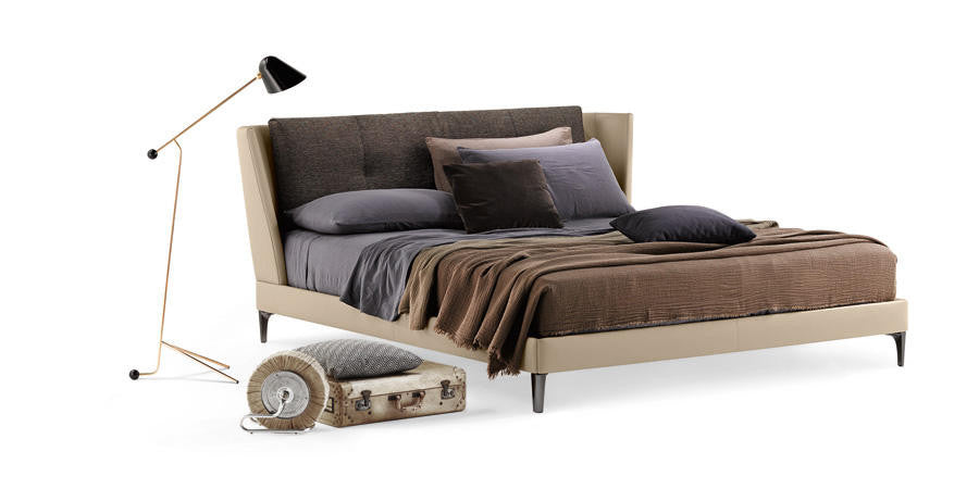 Bretagne Bed  by Poltrona Frau, available at the Home Resource furniture store Sarasota Florida