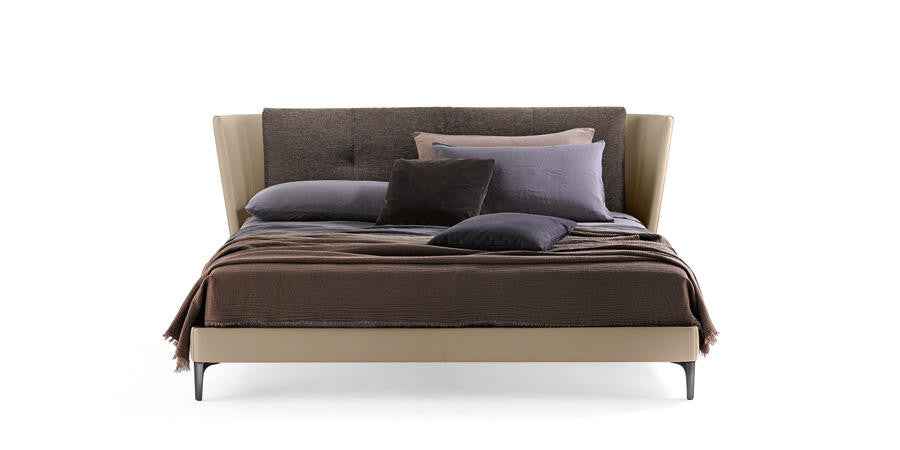 Bretagne Bed by Poltrona Frau for sale at Home Resource Modern Furniture Store Sarasota Florida