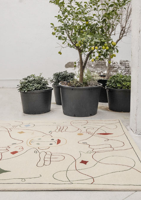 SILHOUETTE OUTDOOR RUG by Nanimarquina for sale at Home Resource Modern Furniture Store Sarasota Florida