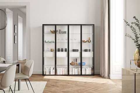 GLAMOUR GLASS CABINET by KETTNAKER