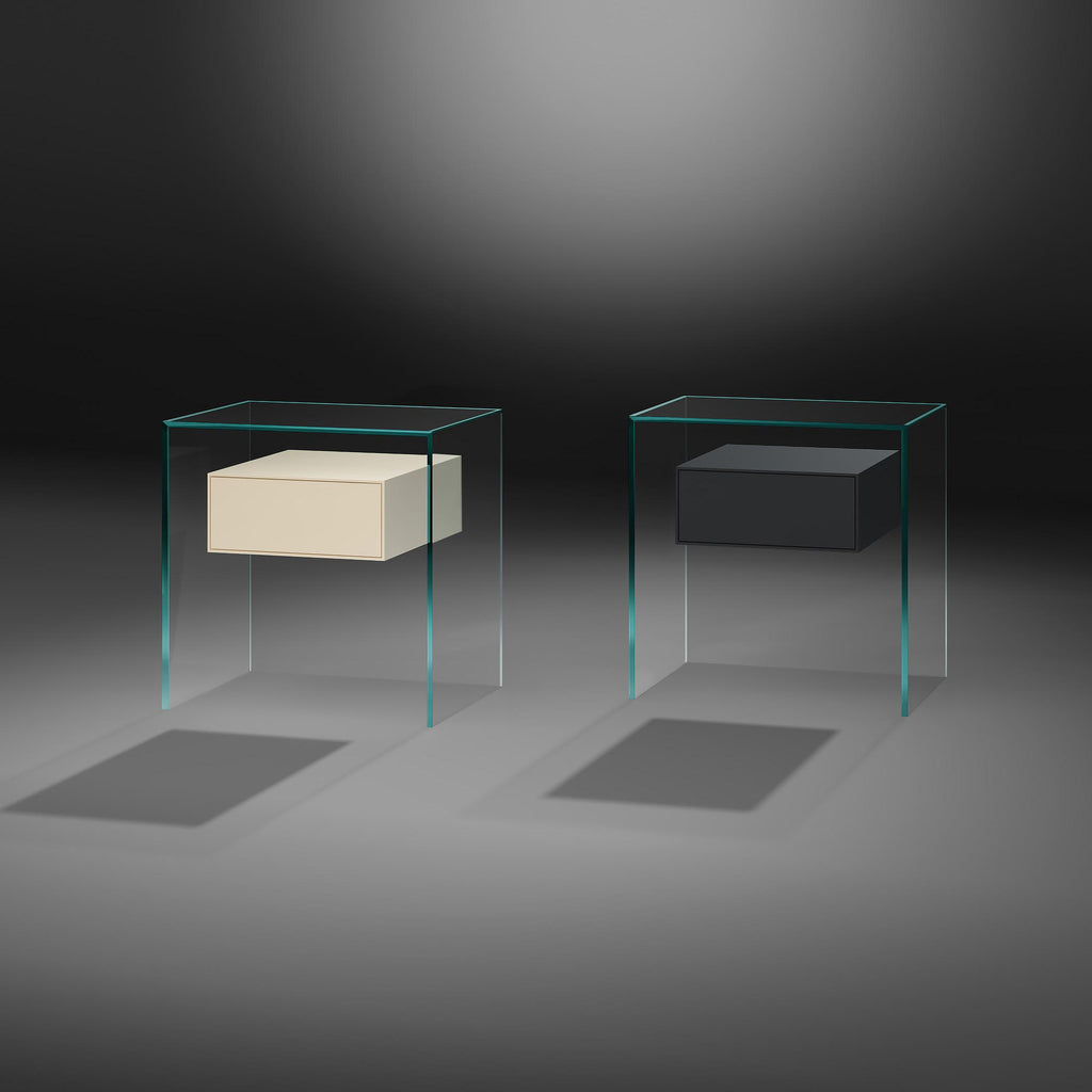 PURE FLY NIGHTSTAND  by DREIECK, available at the Home Resource furniture store Sarasota Florida