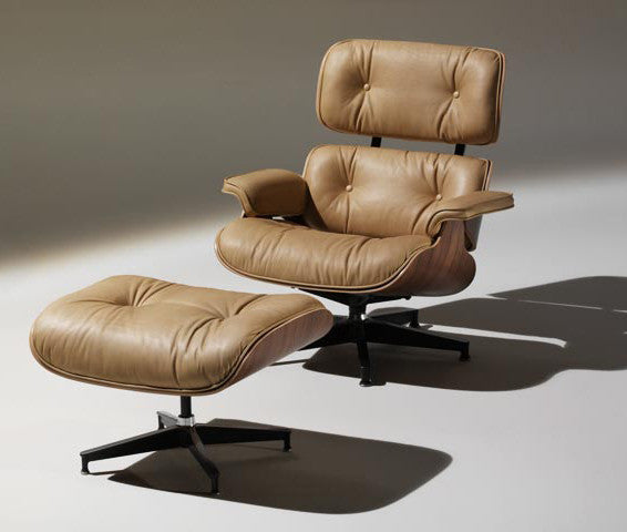 EAMES LOUNGE CHAIR AND OTTOMAN by Herman Miller for sale at Home Resource Modern Furniture Store Sarasota Florida