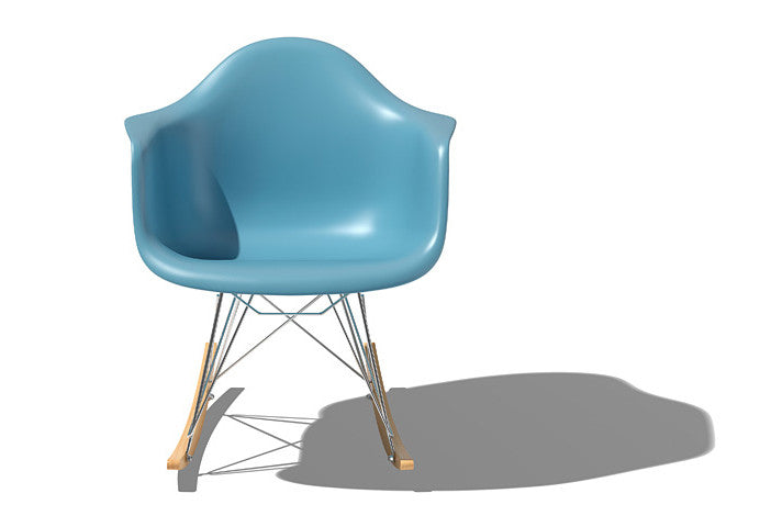 Eames Molded Plastic Chairs Occassional Chairs and Ottomans by