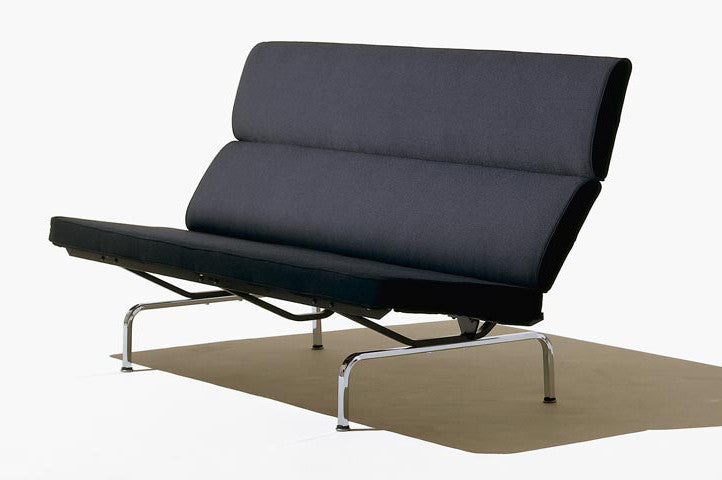 Eames Sofa Compact  by Herman Miller, available at the Home Resource furniture store Sarasota Florida