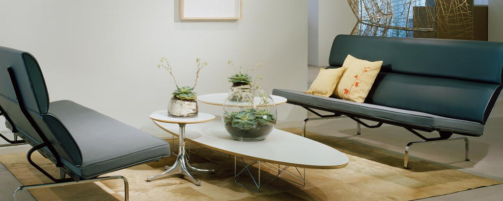 Eames Sofa Compact by Herman Miller for sale at Home Resource Modern Furniture Store Sarasota Florida