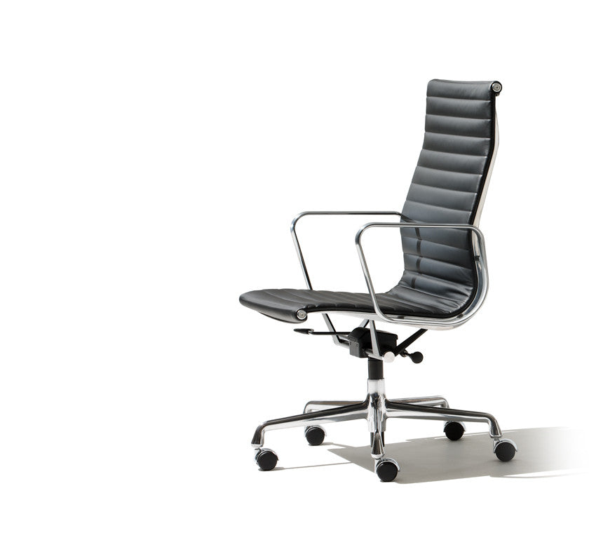 Eames Aluminum Group Executive Chair by Herman Miller for sale at Home Resource Modern Furniture Store Sarasota Florida