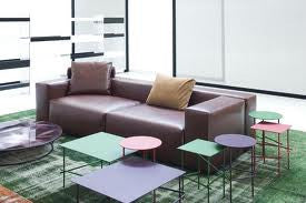 Shanghai Tip Coffee Table by MOROSO for sale at Home Resource Modern Furniture Store Sarasota Florida