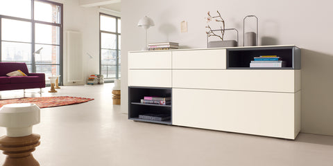 CUBE CHANGE CABINETS by INTERLUBKE