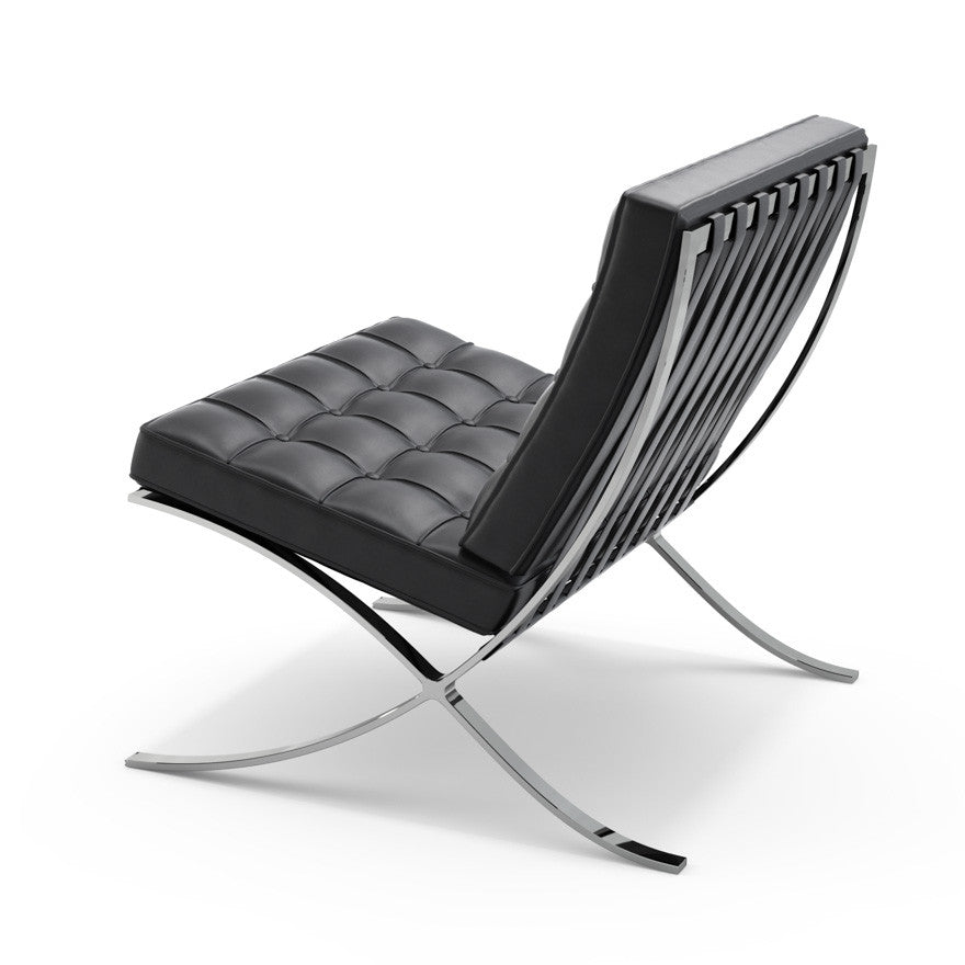 Barcelona Chair by Knoll for sale at Home Resource Modern Furniture Store Sarasota Florida