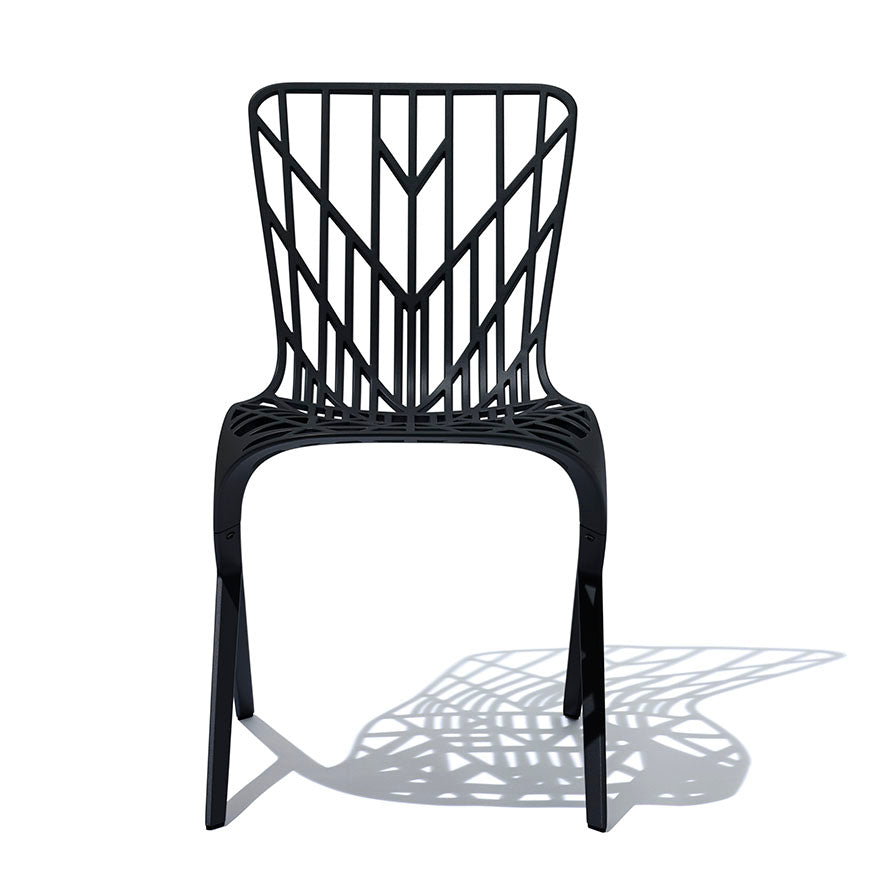 Washington Skeleton™ Aluminum Side Chair  by Knoll, available at the Home Resource furniture store Sarasota Florida