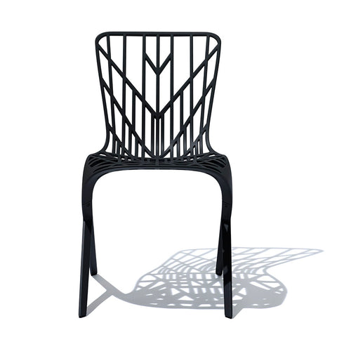 Washington Skeleton™ Aluminum Side Chair by Knoll