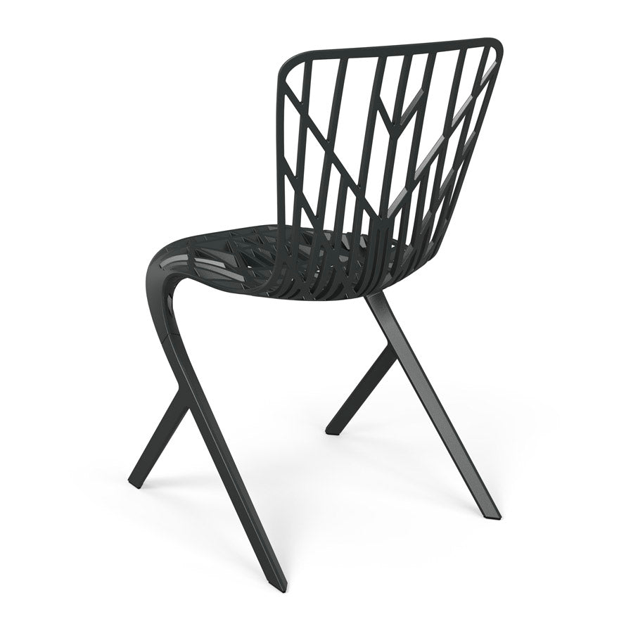 Washington Skeleton™ Aluminum Side Chair by Knoll for sale at Home Resource Modern Furniture Store Sarasota Florida
