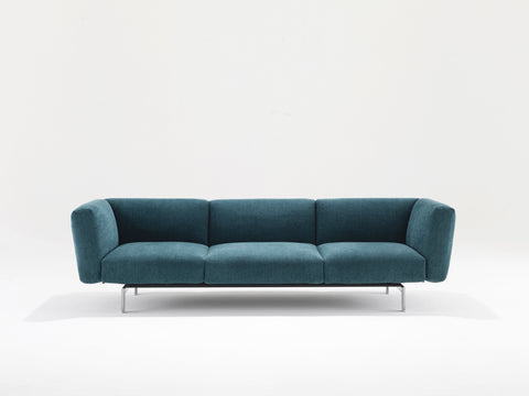 Avio Three Seat Sofa with or without Table by Knoll