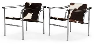 LC1 Lounge Chair  by Cassina, available at the Home Resource furniture store Sarasota Florida
