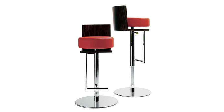Le Spighe Barstool  by Poltrona Frau, available at the Home Resource furniture store Sarasota Florida