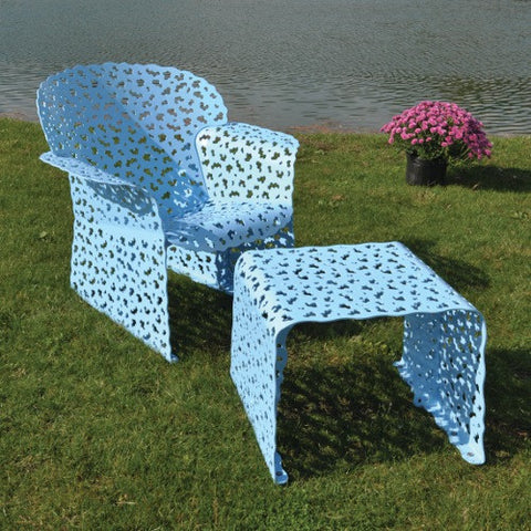 Topiary Chair and Ottoman by Richard Schultz