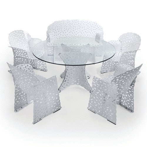 Topiary Outdoor Dining Table  by Richard Schultz, available at the Home Resource furniture store Sarasota Florida