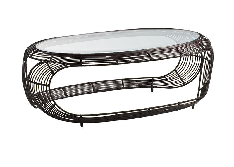 Manolo Coffee Table  by Kenneth Cobonpue, available at the Home Resource furniture store Sarasota Florida
