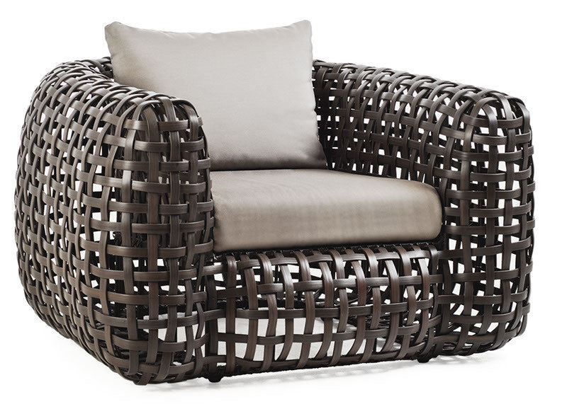 Matilda Easy Armchair  by Kenneth Cobonpue, available at the Home Resource furniture store Sarasota Florida