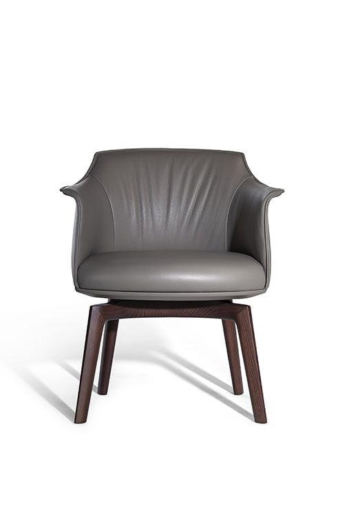 ARCHIBALD DINING CHAIR  by Poltrona Frau, available at the Home Resource furniture store Sarasota Florida