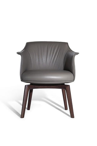 ARCHIBALD DINING CHAIR by Poltrona Frau