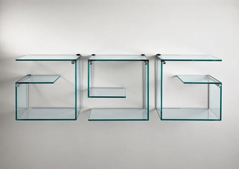 Alfabeta Wall Pieces by TONELLI