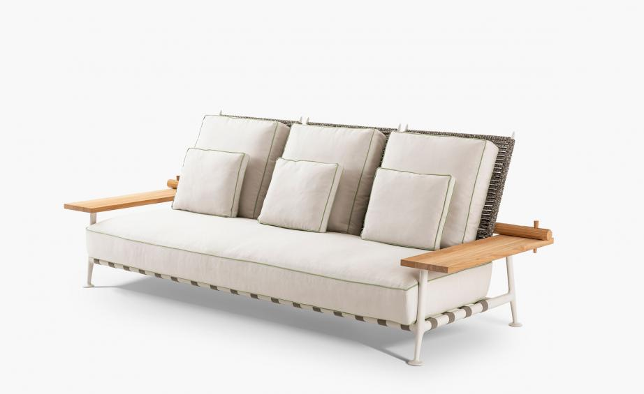 FENC-e NATURE CHAIR AND SOFA  by Cassina, available at the Home Resource furniture store Sarasota Florida
