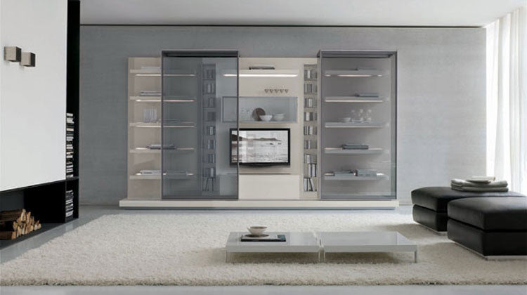 Off-Shore Wall Unit  by ALIVAR, available at the Home Resource furniture store Sarasota Florida