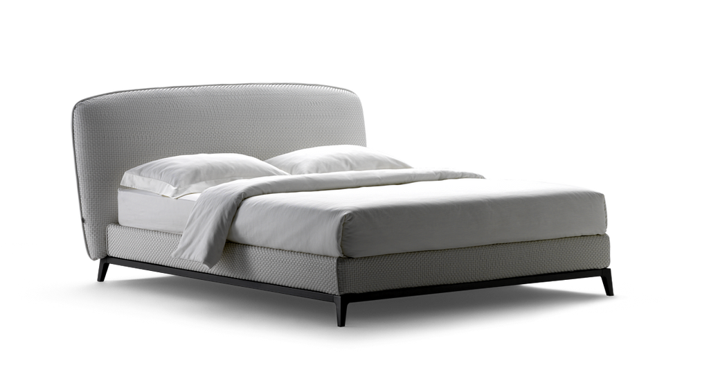 Oliver Bed  by Flou, available at the Home Resource furniture store Sarasota Florida