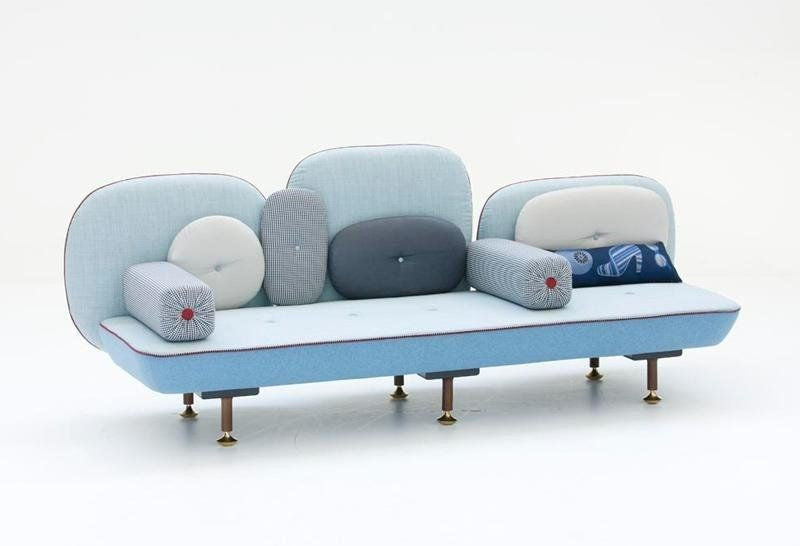 My Beautiful Back Side Sofa  by MOROSO, available at the Home Resource furniture store Sarasota Florida