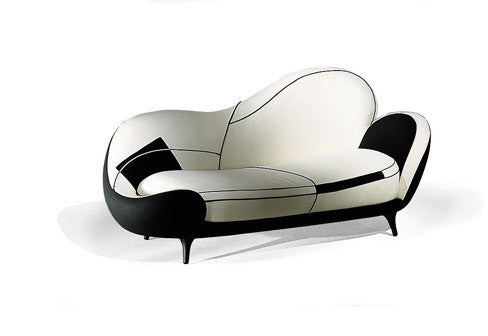 Los Muebles Amorosos Sofa by MOROSO for sale at Home Resource Modern Furniture Store Sarasota Florida