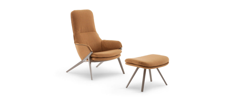 395 -396 P22 ARMCHAIR  by Cassina, available at the Home Resource furniture store Sarasota Florida