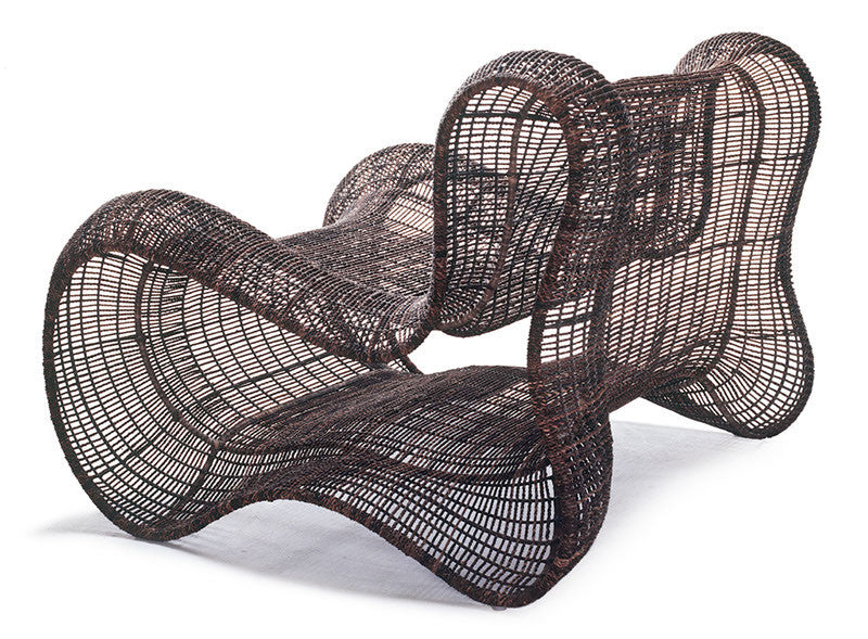 Pigalle Armchair  by Kenneth Cobonpue, available at the Home Resource furniture store Sarasota Florida