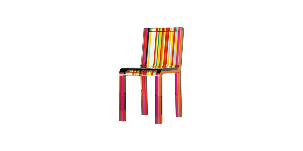 RAINBOW CHAIR  by Cappellini, available at the Home Resource furniture store Sarasota Florida
