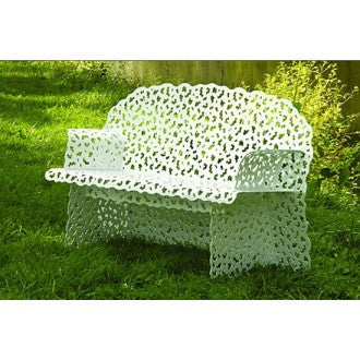 Topiary Bench  by Richard Schultz, available at the Home Resource furniture store Sarasota Florida