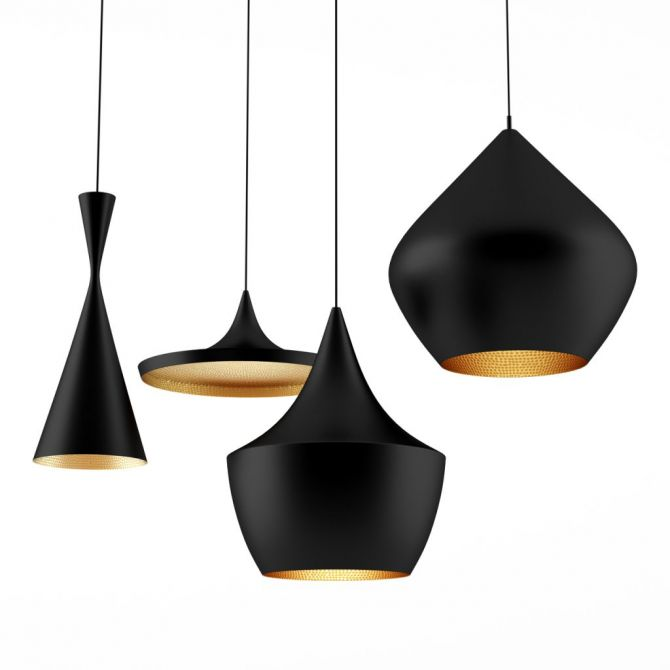 BEAT HANGING PENDANTS by TOM DIXON for sale at Home Resource Modern Furniture Store Sarasota Florida