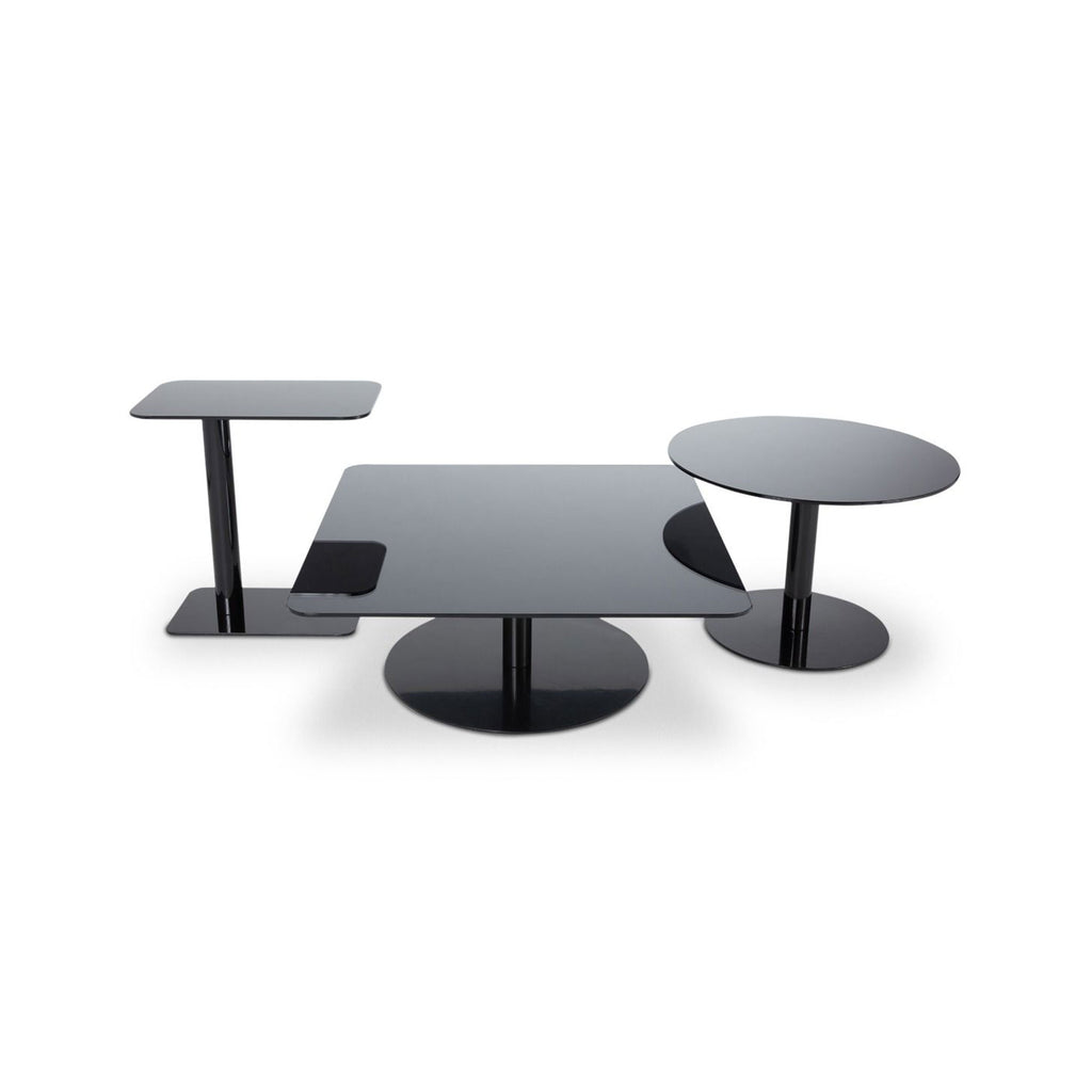 FLASH TABLES  by TOM DIXON, available at the Home Resource furniture store Sarasota Florida